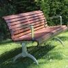 Madrid Seat - Arch Leg - Merbau Hardwood